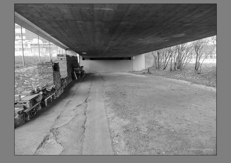 Europabrücke Obdachlos in Zürich-6